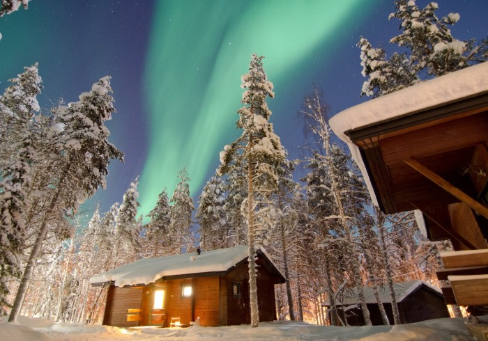 picture of lodge cabin Lapland Travel Äkäslompolo