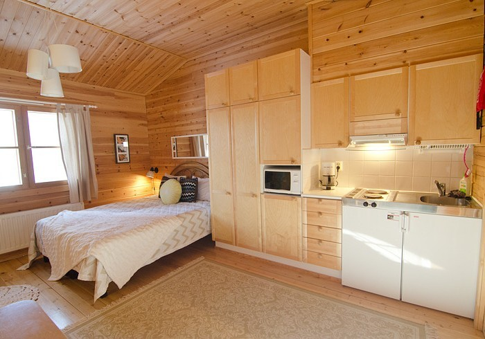 Apartment cabin lodging Lapland Travel Äkäslompolo